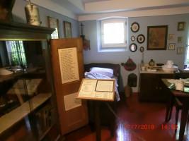 Die Wohnung des Lehrers vor 150 Jahren