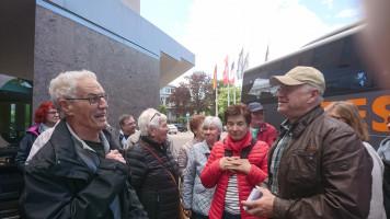 Wilfried Nagel begrüßt uns