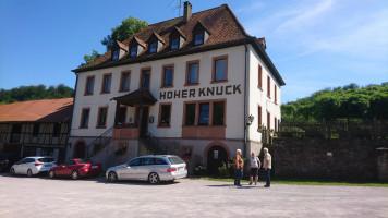 """Gasthaus """"Hoher Knuck"""", ein lohnendes Ausflugsziel"""