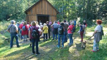 Vorstellung der Greifvogelauffangstation durch Michael Mendel