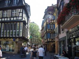 Viele historische Gebäude in den Fußgängerzonen