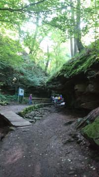 Durch die Seltenbach-Schlucht