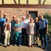 Der neu gewählte AG 60plus-Vorstand im Unterbezirk Main-Spessart Miltenberg